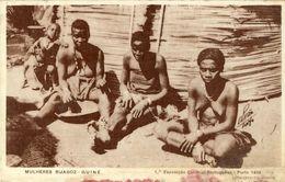 GUINÉ - Mulheres Bijagoz - Guinea Bissau