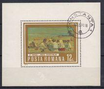 RUMANIA 1973 HB-110 USADO - Hojas Bloque