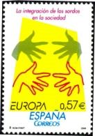 HEALTH-LOUIS BRAILLE-EUROPA-SPAIN-2006-SET OF 2-MNH-H1-429 - Handicaps