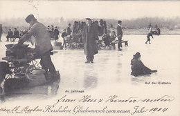 Marroni-Verkäufer Auf Der Eisbahn - CPN - Serie Z - 1903       (P-63-60218) - Marchands Ambulants