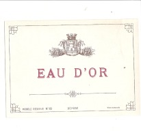 EAU D'OR -   ( 4 Points De Colle Dos) - Whisky