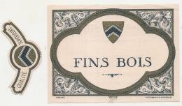 COGNAC  Fin Bois -   Avec Impression Dos  Modele 478 -   ( 4 Points De Colle Dos - Petit Aminci ) - Whisky