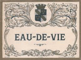 EAU DE VIE  -   Avec Impression Dos  Modele 469 - - Whisky