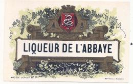 EAU DE VIE  -  Liqueur De L'abbaye - (4 Point De Colles Dos) - Whisky