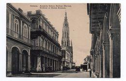 HABANA - AVENIDA SIMON BOLIVAR - Cuba