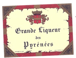 Grande Liqueur Des Pyrénées - - (4 Point De Colles Dos Amincis ) - Whisky