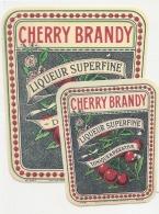 BRANDY CHERRY  Liqueur Surfine  - (1 Point De Colles Dos Aminci) - Whisky