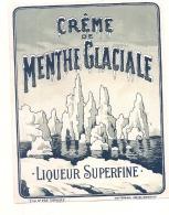 MENTHE GLACIALE  Liqueur Surfine   - (4 Points De Colles Dos Amincis ) - Whisky