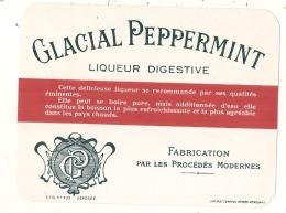 MENTHE GLACIALE Glacial Peppermiint Liqueur Digestive    - (4 Points De Colles Dos Aminci ) - Whisky