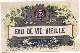 Eau De Vie Vieille ATTENTION Abimée - Whisky