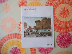 DEFILE DU 14 JUILLET 1973 PARIS PROGRAMME OFFICIEL - Programmes