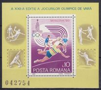 RUMANIA 1980 HB-144 NUEVO - Hojas Bloque
