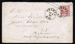 A4711) AD NDP Ganzsache-Brief Von Bremen 26.5.70 - Norddeutscher Postbezirk