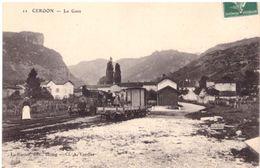 Cerdon La Gare (ligne Tramway De L'Ain) - France