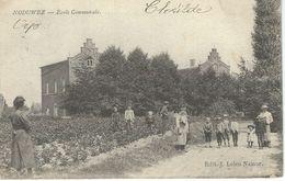 NODUWEZ : Ecole Communale - Cachet De La Poste 1906 - Orp-Jauche