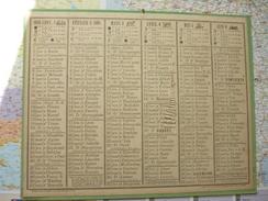 Almanach Des Postes Et Télégraphes 1919 - Calendari