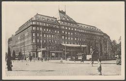 Hotel Carlton, Bratislava, Československo, C.1940s - Slovakotouru Fotka Pohľadnice - Slovakia