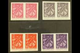 FLOWERS COLOUR TRIAL PROOFS For The Argentina 1960 50c+50c Flowers Issue (Jacaranda), As SG 999 Or Scott B26, A... - Stamps