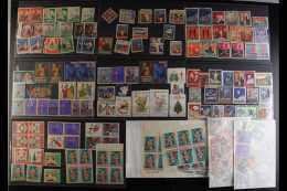 ANTI-TB LABELS Interesting Mostly 1920's To 1950's Accumulation On Stockcards And In Glassines. With Strong South... - Stamps