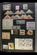 A MOTLEY COLLECTION IN A LARGE STOCK BOOK An All Periods Mint And Used World Assembly Which Includes Great Britain... - Stamps