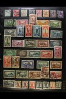 """AFRICAN NATIONS 1890-1990 A Most Useful ALL DIFFERENT Used Collection Presented On Stock Pages With """"Better""""... - Stamps"""