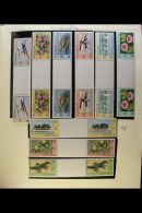 """LEEWARD ISLANDS """"NEW ISSUES"""" COLLECTION 1976-79 All Different Never Hinged Mint Collection With Sets, Gutter... - Stamps"""