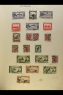 COMMONWEALTH COLLECTION CAT £1500+ A Chiefly All Different, Mint & Used Collection Presented In A Spring... - Stamps