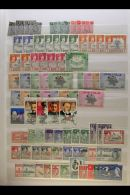 BRITISH COMMONWEALTH RANGES. Late 19th Century To 1970's Mint & Used Stamps With Light Duplication On Stock... - Stamps