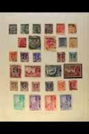 BRITISH ASIA 1850's To 1970's All Different Mint And Used Collection On Old Album Pages, Includes Sections Of... - Stamps