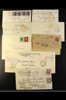 A GOOD ASSORTMENT OF COVERS AND CARDS A 19th Century To Modern World Assembly In A Carton With Plenty Of Interest... - Stamps