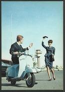 Cartolina Pubblicitaria Originale - VESPA 150 SUPER - Moto