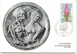 CARTE MAXIMUM JOURNEE MONDIALE DU CANCER 1970 - Cartes-Maximum