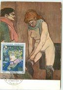 CARTE MAXIMUM GALA DE L'UNION DES ARTISTE TOULOUSE LAUTREC 1965 - 1960-69