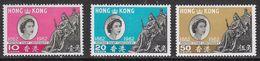 Hong Kong SG193-195 1962 Stamp Centenary Set 3v Complete Mounted Mint [34/29131/3D] - Hong Kong (...-1997)