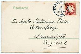 LEAMINGTON : HON. KATHERINE DILLON / BERCHTESGADEN - BLICK VOM LOCKSTEIN 1905 - Angleterre