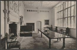 The Hall, Trerice Near Newquay, Cornwall, C.1960 - Photo Precision RP Postcard - Newquay