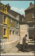 The Wood Carver Of Mount Zion, St Ives, Cornwall, 1969 - Harvey Barton Postcard - St.Ives