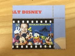 Macedonia 2016 Walt Disney MNH - Macedonia