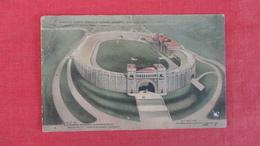 Concrete Stadium Syracuse Stadium  NY  As Is Crease   Ref 2623 - Cartes Postales