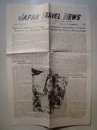 JAPAN TRAVEL NEWS - JAPAN TRAVEL BUREAU, 1953. 4 PAGES. B/W PHOTOS. - Exploration/Travel