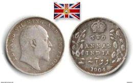 British India - 2 Annas 1904 (Silver) - Colonies