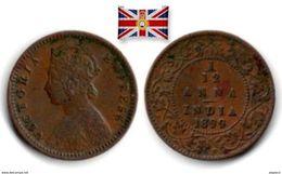British India - 1/12 Anna 1899 - Colonies