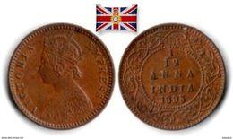 British India - 1/12 Anna 1895 - Colonies