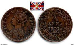British India - 1/12 Anna 1891 - Colonies