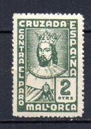 Viñeta  Nº 57 De Mallorca. 2pts - Viñetas De La Guerra Civil