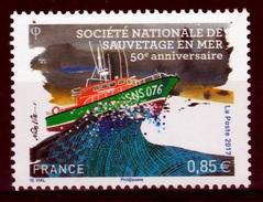 France, SNSM, French Lifeboat Institution, 2017, MNH VF - Francia