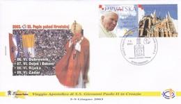 Kroatien 2003 Vaggio Apostolico Di S.S.Giovanni Paolo II In Croazia - Vinkovci - Papes