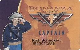 Bonanza Casino - Reno, NV - Slot Card - Casino Cards