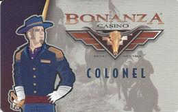 Bonanza Casino - Reno, NV - Slot Card BLANK - Casino Cards