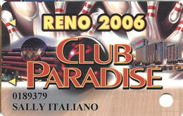 Atlantis Casino - Reno, NV - Slot Card - Casino Cards